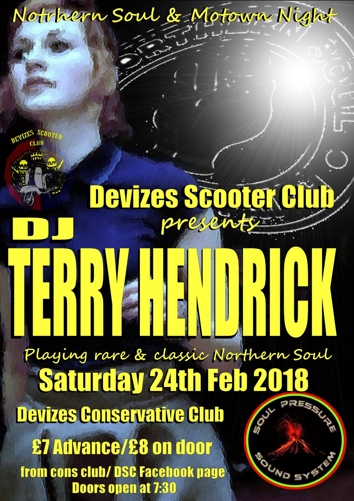 Devizes to get a warm spell of Northern Soul in February, via DJ TerryHendrick