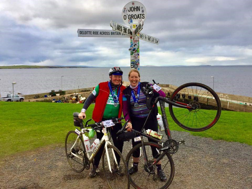 Successful cycling duo receive surprise welcome home from proudSeenders…