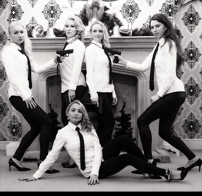 Swindon not Stirred; Ukrainian Olya and her BondGirls
