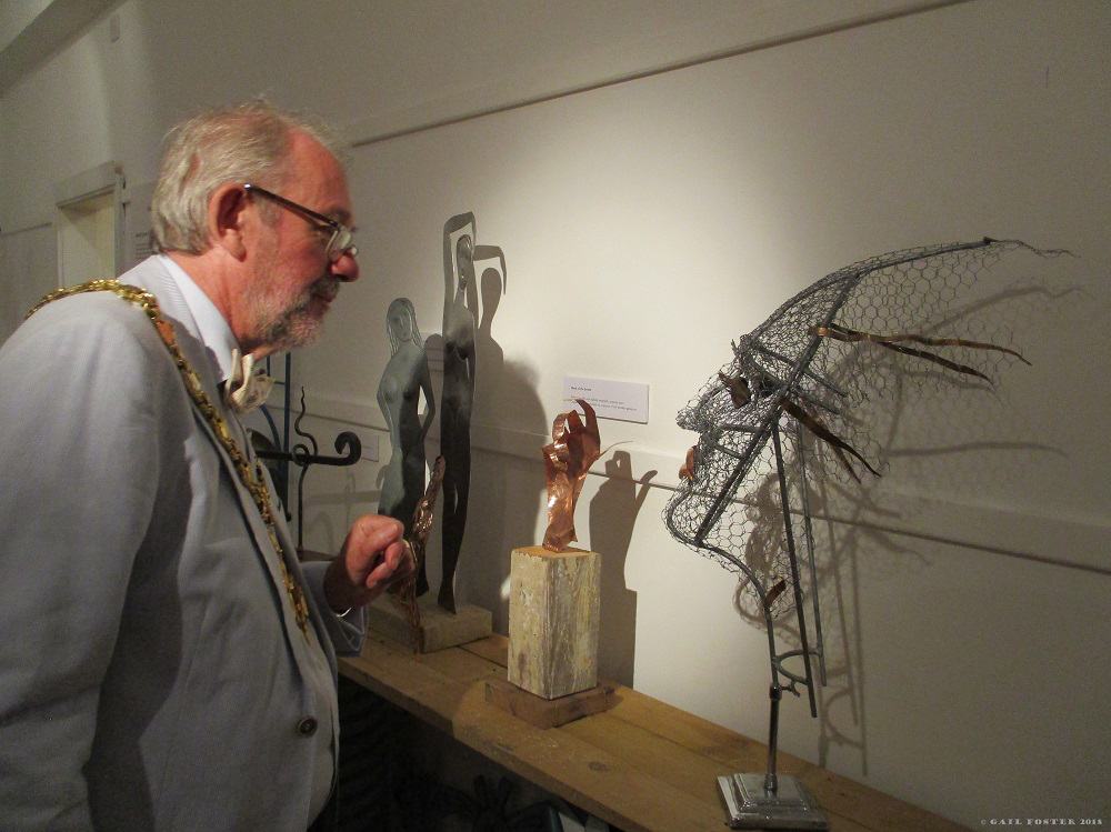 'The Blacksmith's Craft'; John Girvan at Wiltshire Museum, by GailFoster