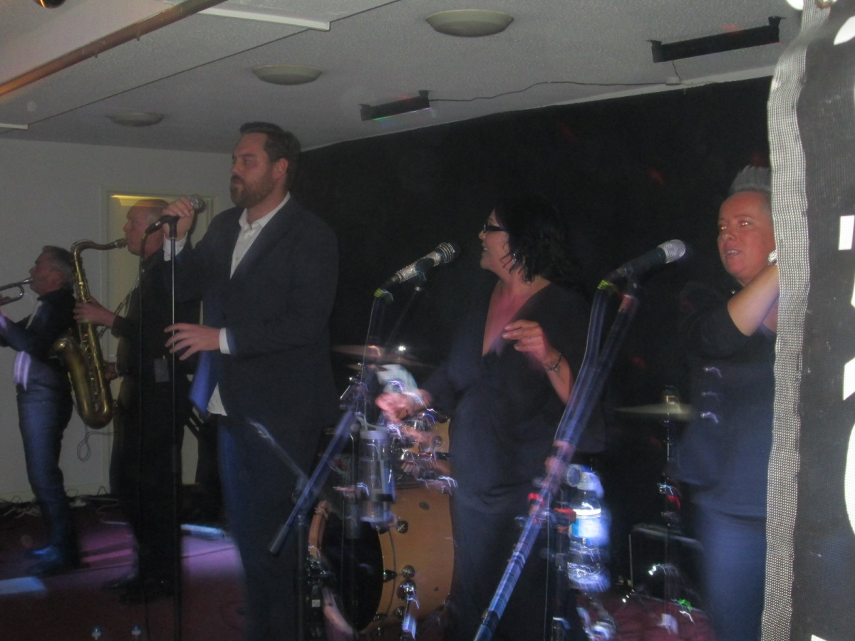 Welsh Soul Band gave Scooter Club someLovin'