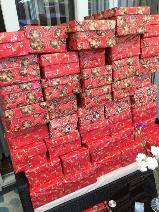 Can You Help with Christmas Shoeboxes for ourTroops?
