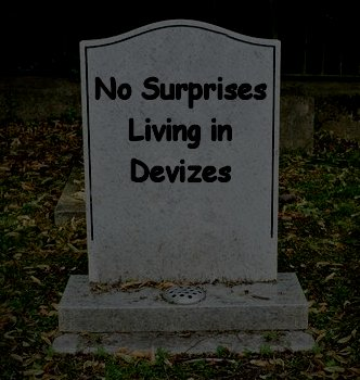 """Why I Don't Write """"No Surprises Living in Devizes""""Anymore"""