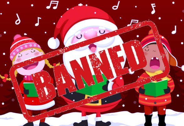 Say no to Maria Carey this Christmas; and other festive songs which need to bebanned!