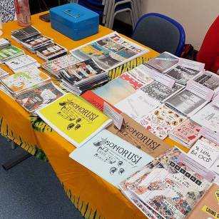 Forever Incomplete & Purple Sense at #swindonzinefest.jpg