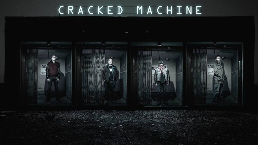cracked machine