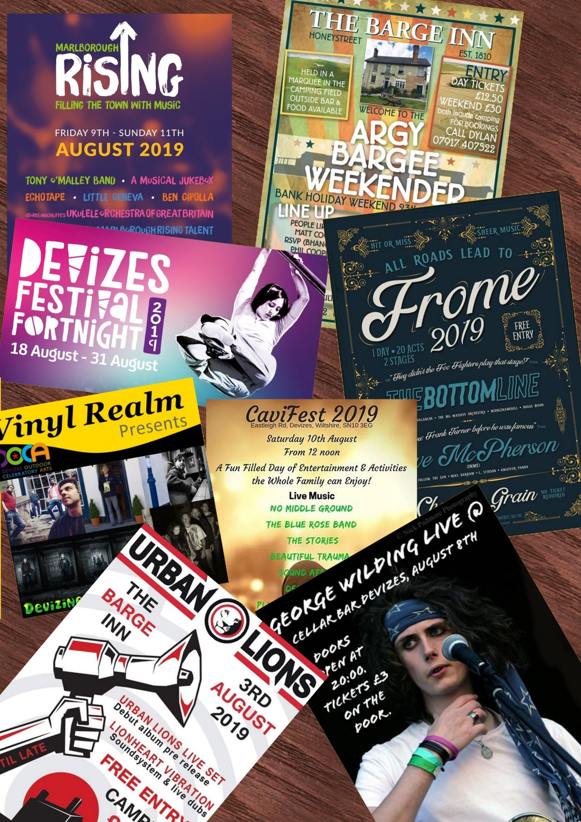Unmissable Gigs for August in our LocalArea