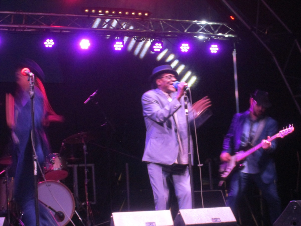 Choo-Choo, Train to Skaville Supported Neville Staple at Parkfest!