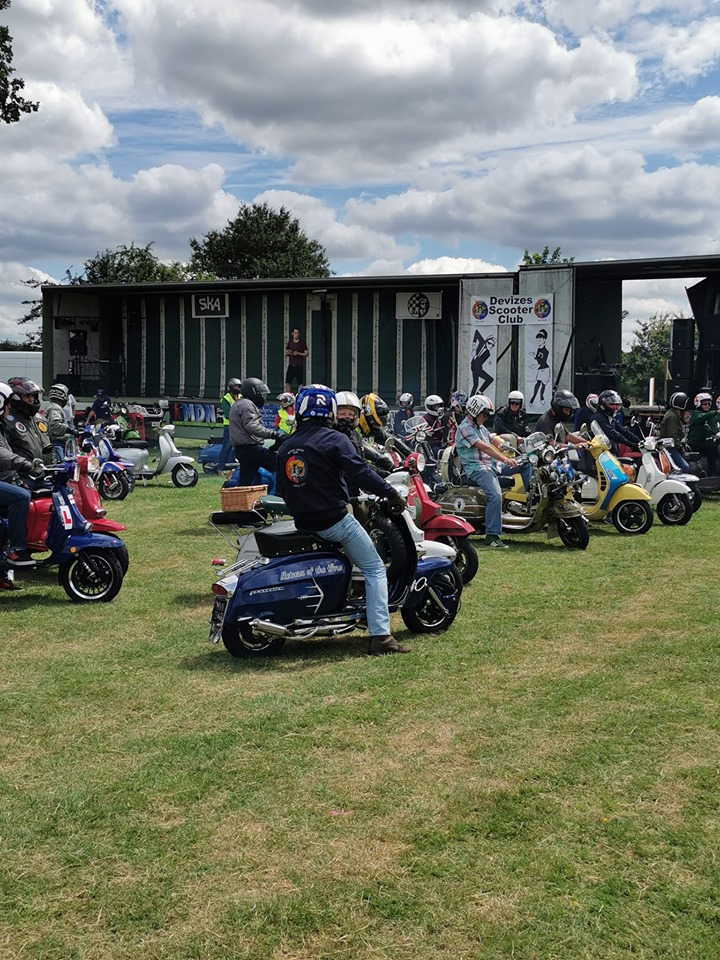 Devizes First Scooter Rally; A Historic Weekend