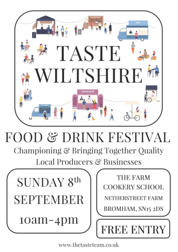Taste of Wiltshire Food Fest is full, you can help empty it!