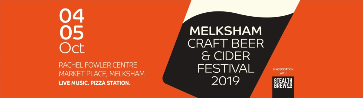 PREVIEW – Melksham Craft Beer & Cider Festival @ Rachel Fowler Centre, Melksham – Friday 4th & Saturday 5th October 2019