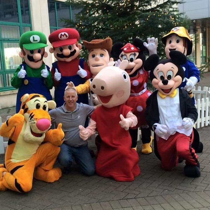 Peppa Pig, Mickey Mouse, Tigger and Friends All Kicked Out of The Brunel Shopping Plaza This Christmas!
