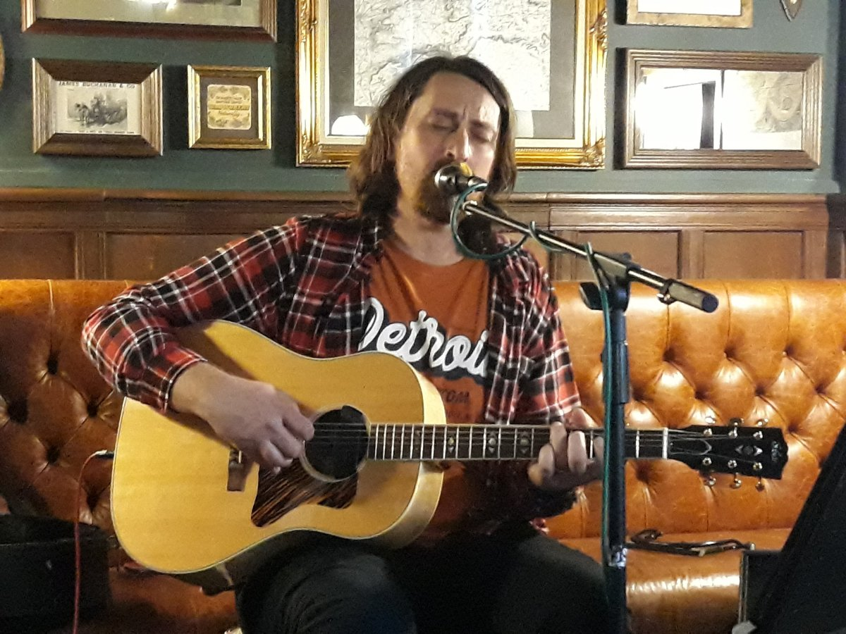 Phil Jinder Dewhurst at the White Bear