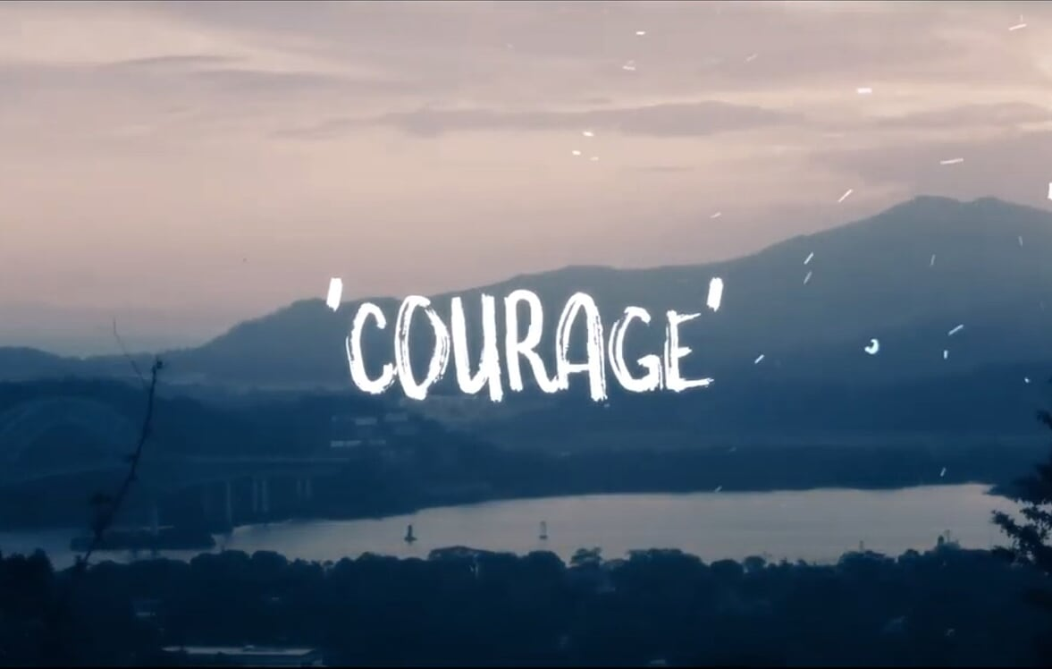 Courage (Leave it Behind) New Single from Talk in Code