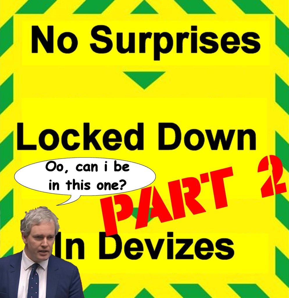 No Surprises Locked Down in Devizes: Part2