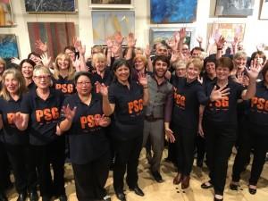 PSG Choirs Show Their True LockdownColours