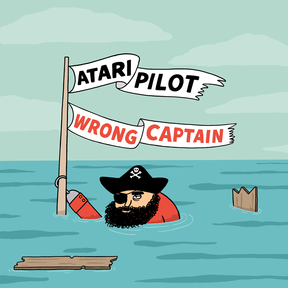 Atari Pilot's Right Crew, Wrong Captain