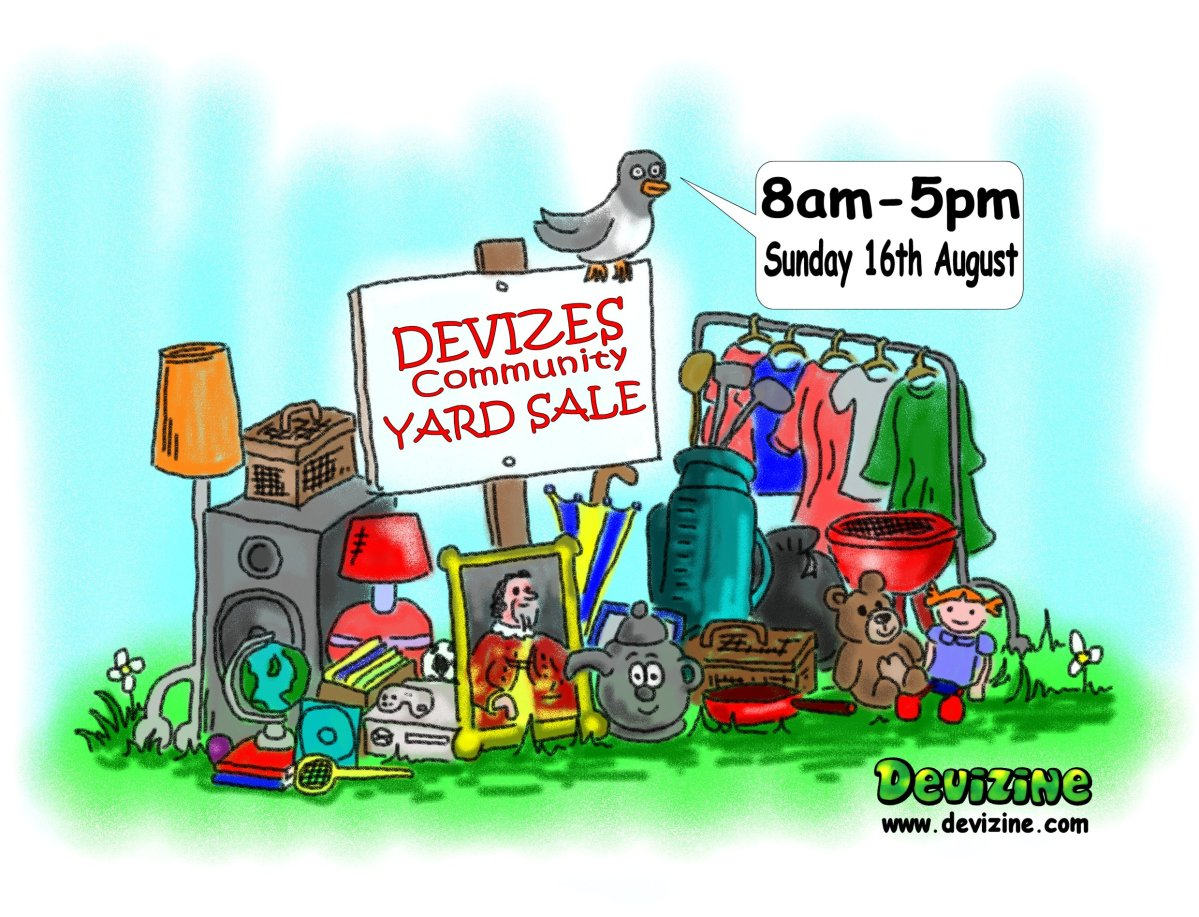 Devizes Wide Community Yard Sale; what a great idea!