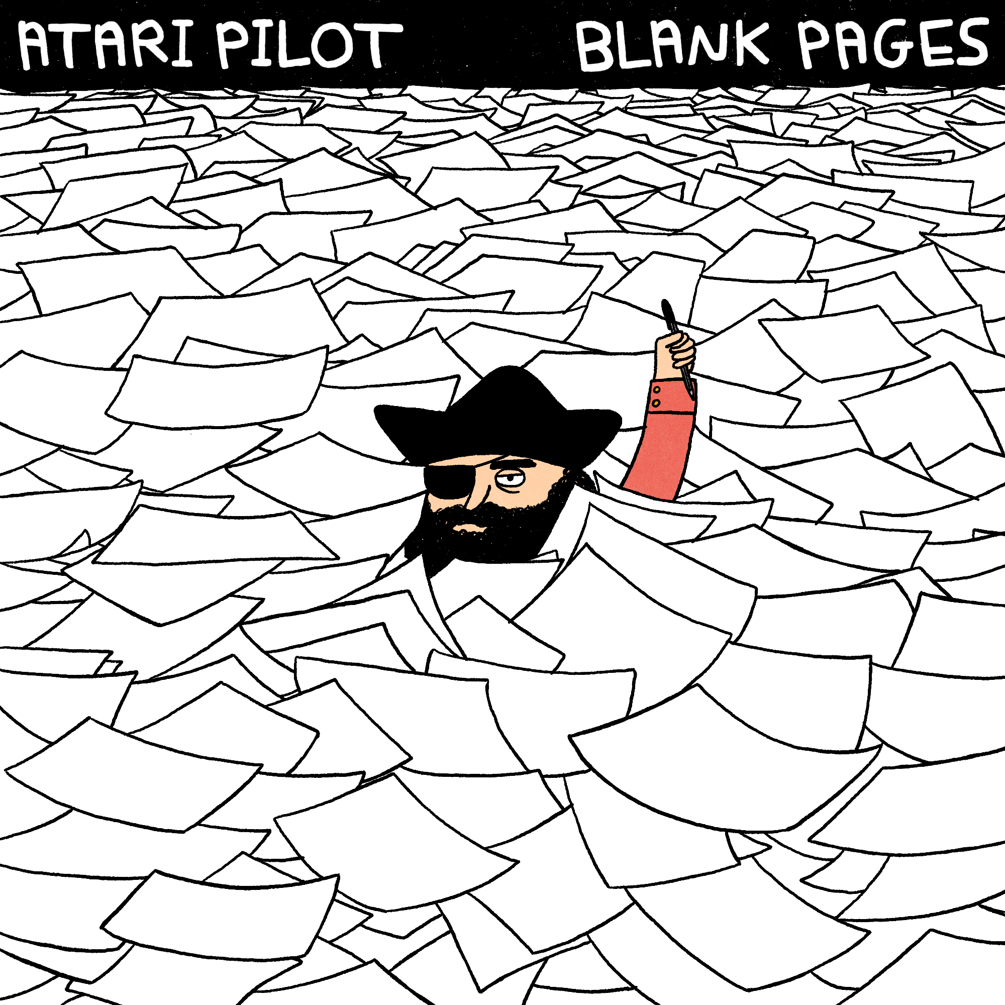 Blank Pages of an Atari Pilot