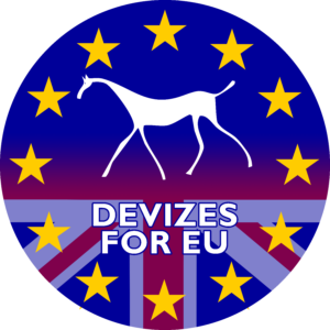 "Today Devizes for Europe launched ""Say #YES2ARealDeal"" campaign."