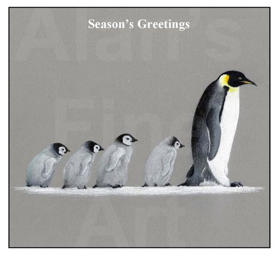 Alan's Fine Art Christmas Cards for NHS Charities