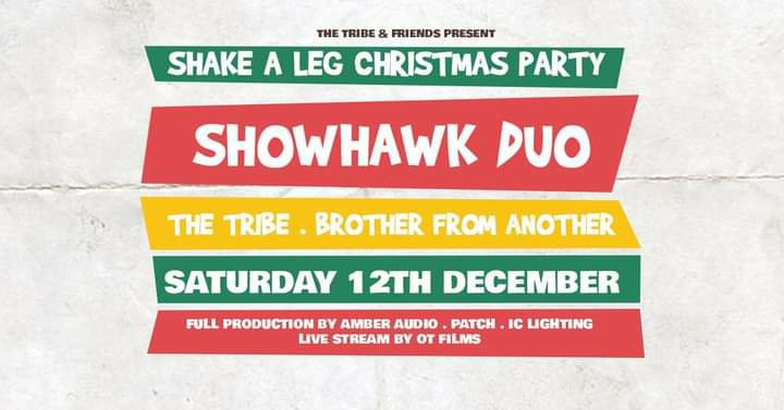Shake a Leg this Christmas in Swindon with The Tribe, Showhawk Duo, and Brother FromAnother