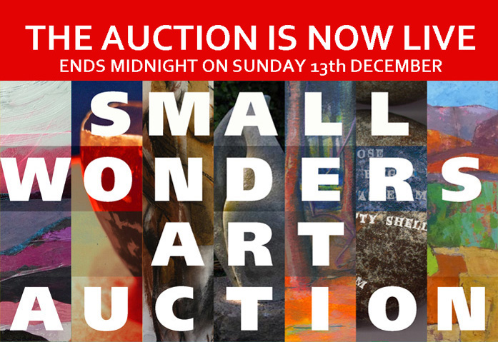 Small Wonders Art Auction in aid of Arts Together