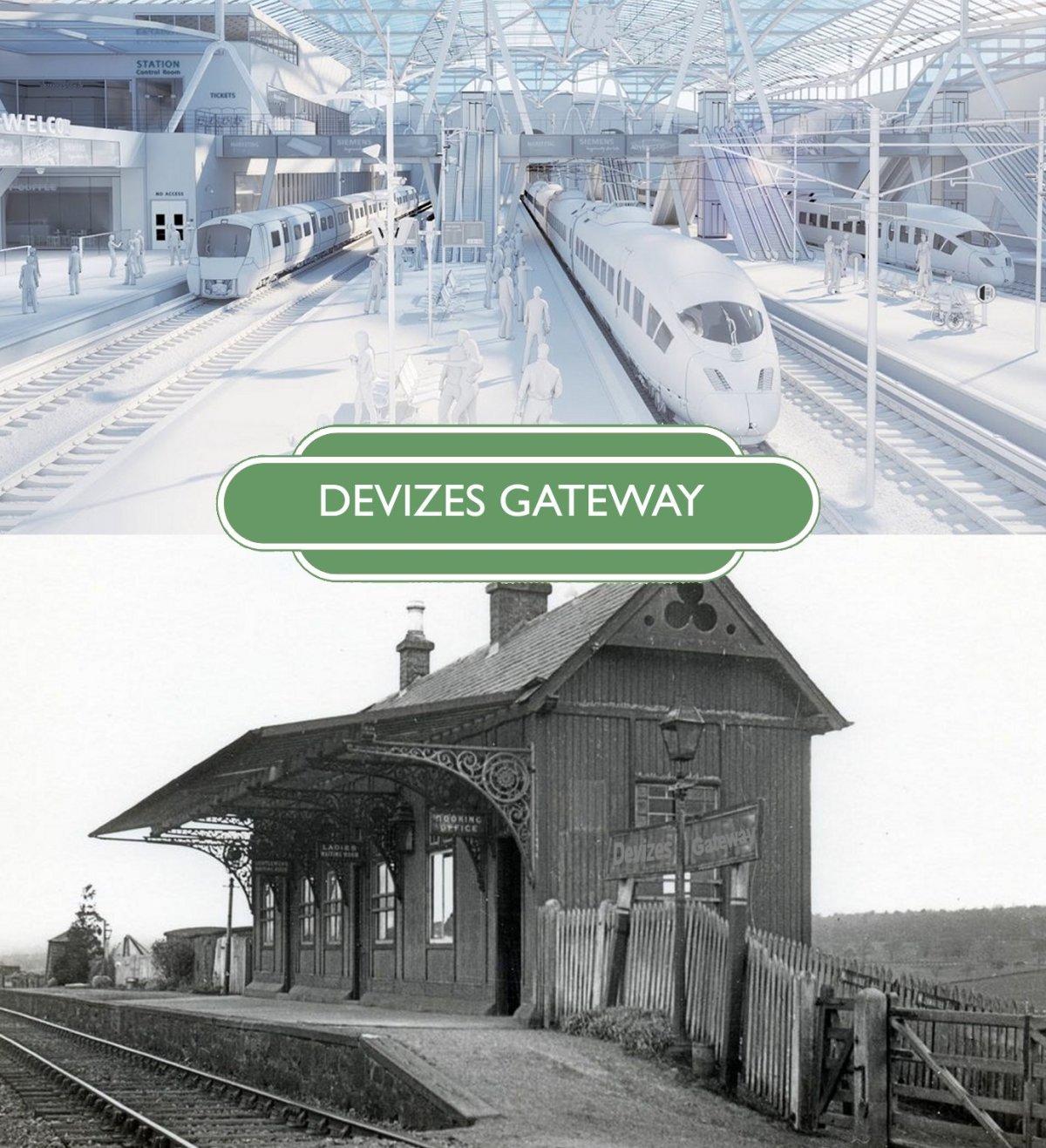 Choo-Choo; Dreams of Devizes RailwayStation
