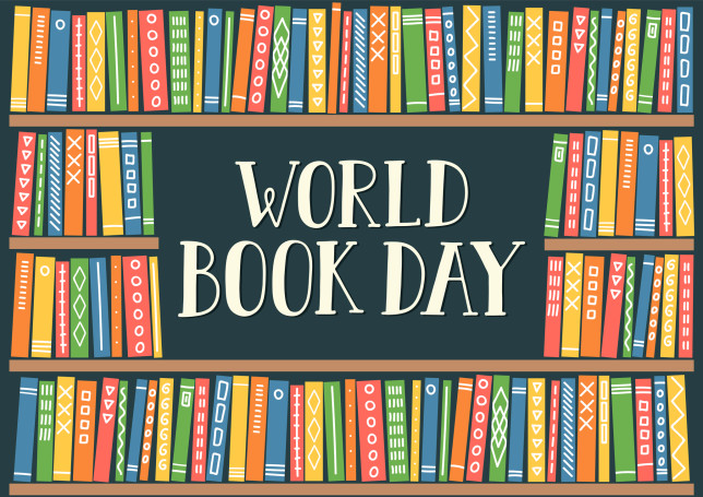 World Book Day; Flash Your Book at Us!