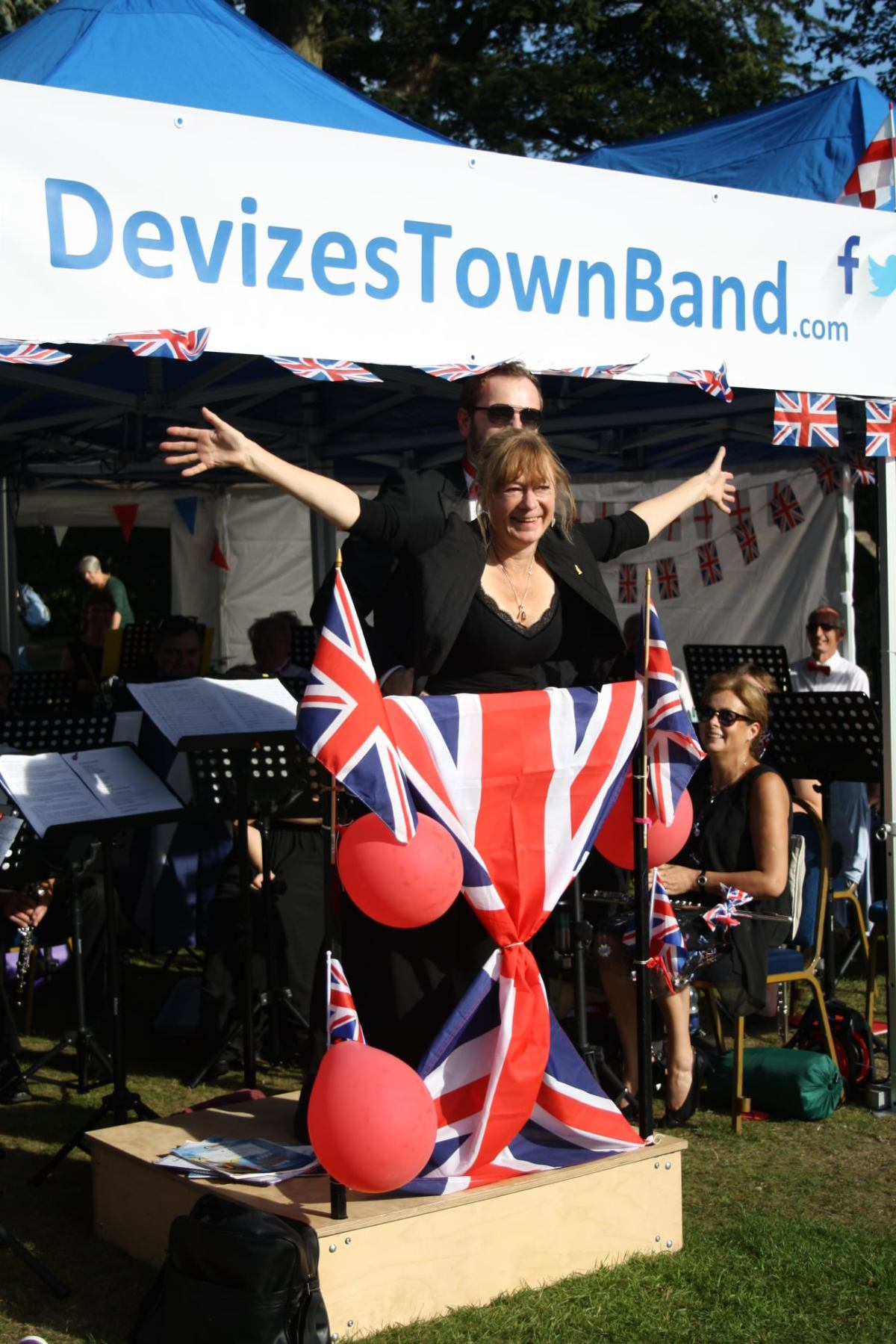 Devizes Town Band in Chippenham