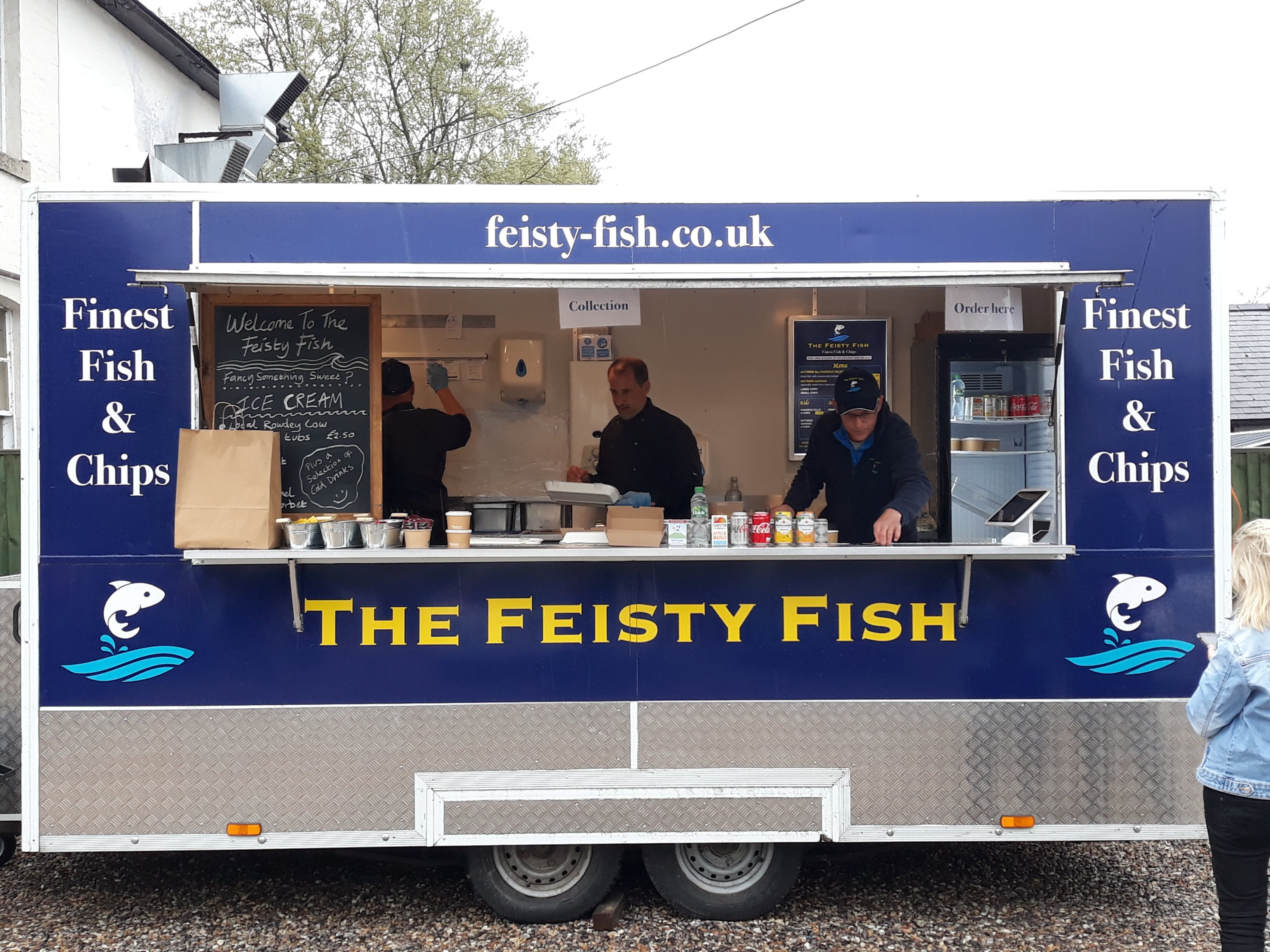 Fiesty Fish will be at a'Becketts Vineyard on Saturday