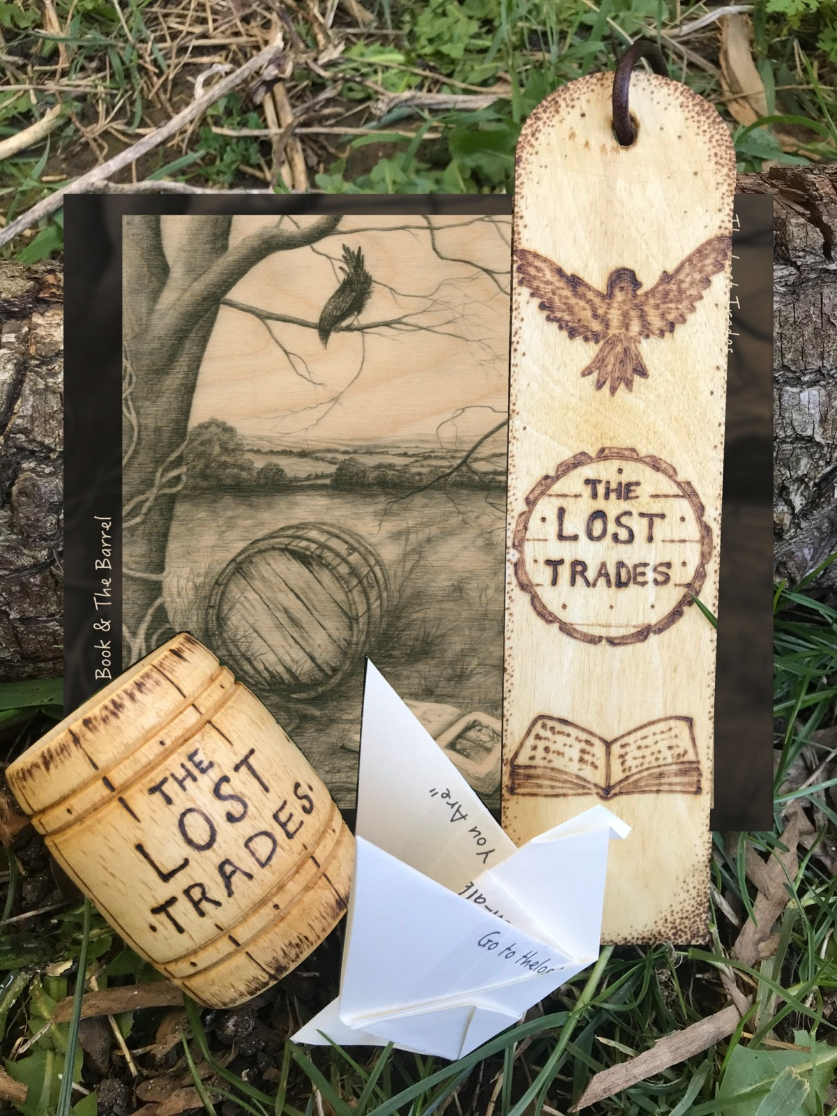 Lost Trades; The Bird, The Book & TheBarrel