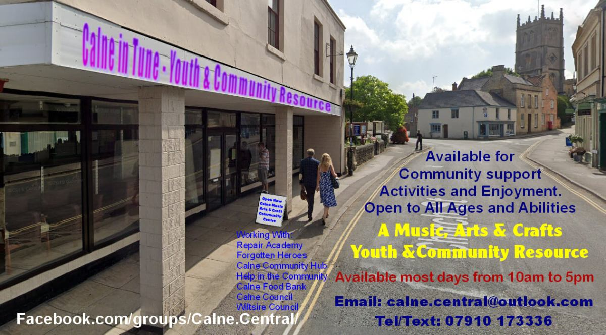 Can You Help Calne Central Youth & Community Centre Raise Funds to Keep itGoing?
