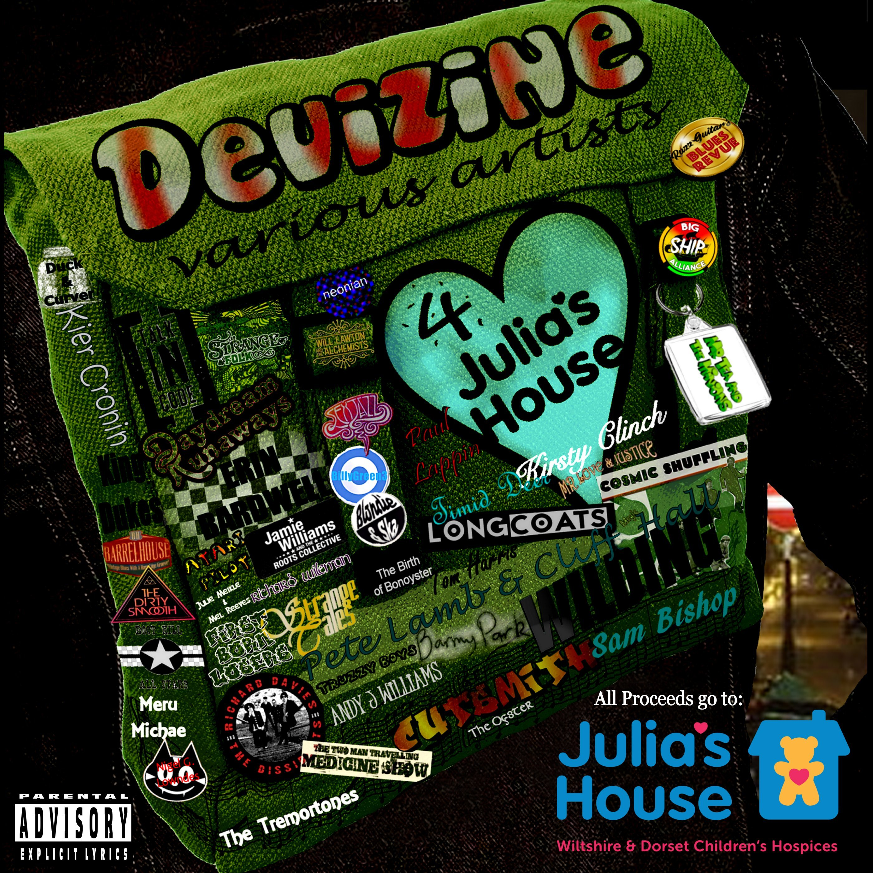 Devizine Proudly Presents Various Artists 4 Julia's House; Here's the Track Listing!