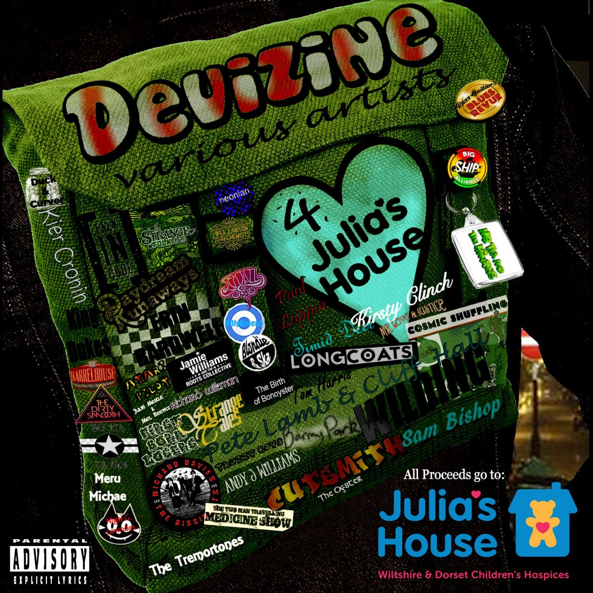 OUT NOW! Various Artists 4 Julia'sHouse