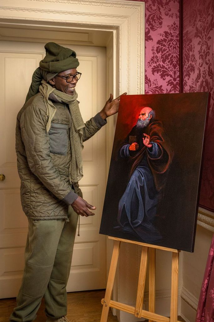 Local Artist Clifton Powell Commissioned for English Heritage Exhibition The African Diaspora inEngland