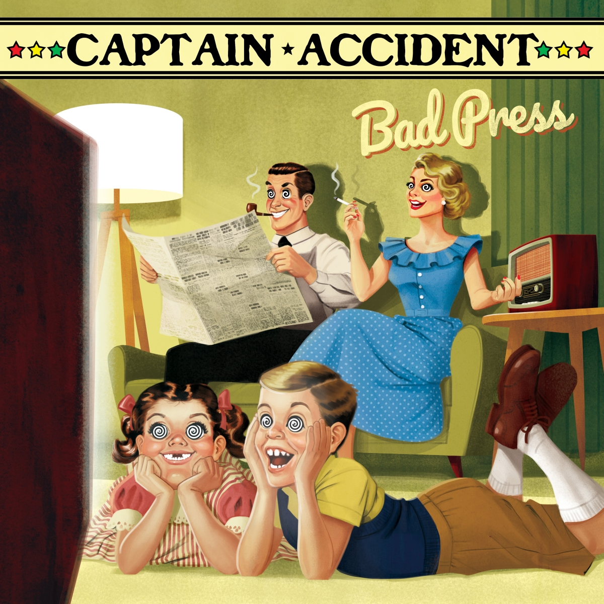 No Bad Press for Captain Accident & TheDisasters