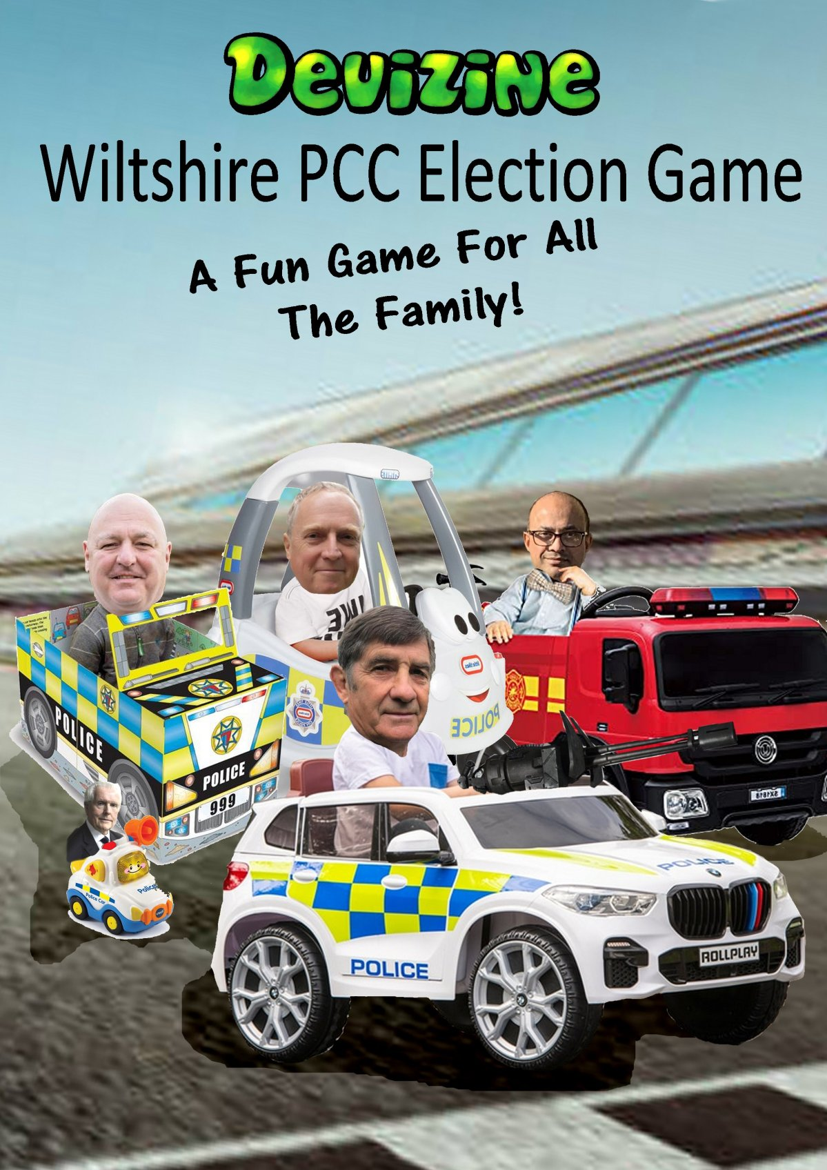 Play the Wiltshire PCC Game; Fun for All theFamily!