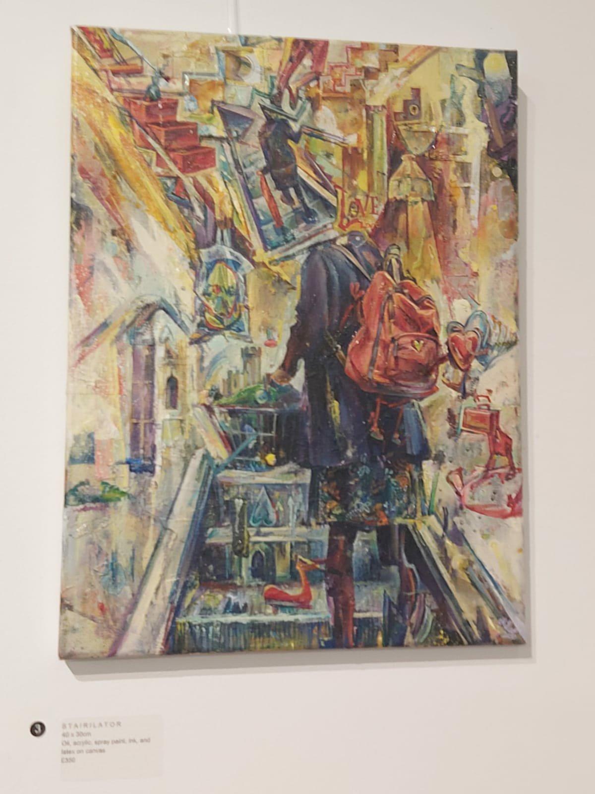 Up to Trowbridge for SomeMiller-Art