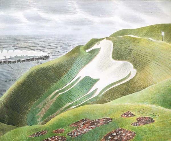 Eric Ravilious: Downland Man