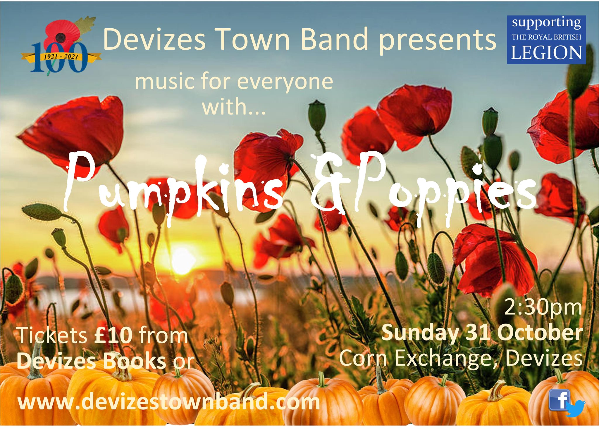 Pumpkins & Poppies with Devizes Town Band