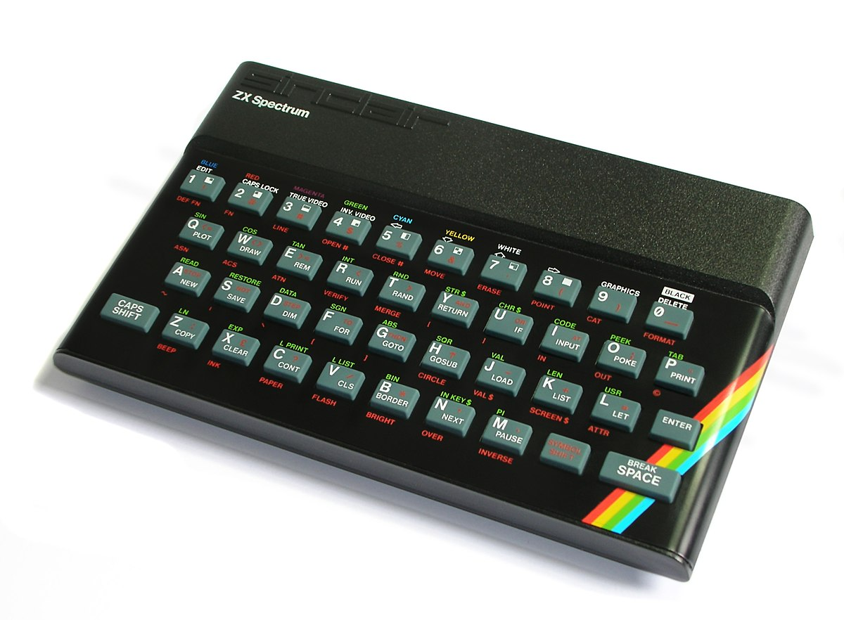 Remembering Sinclair's ZXSpectrum