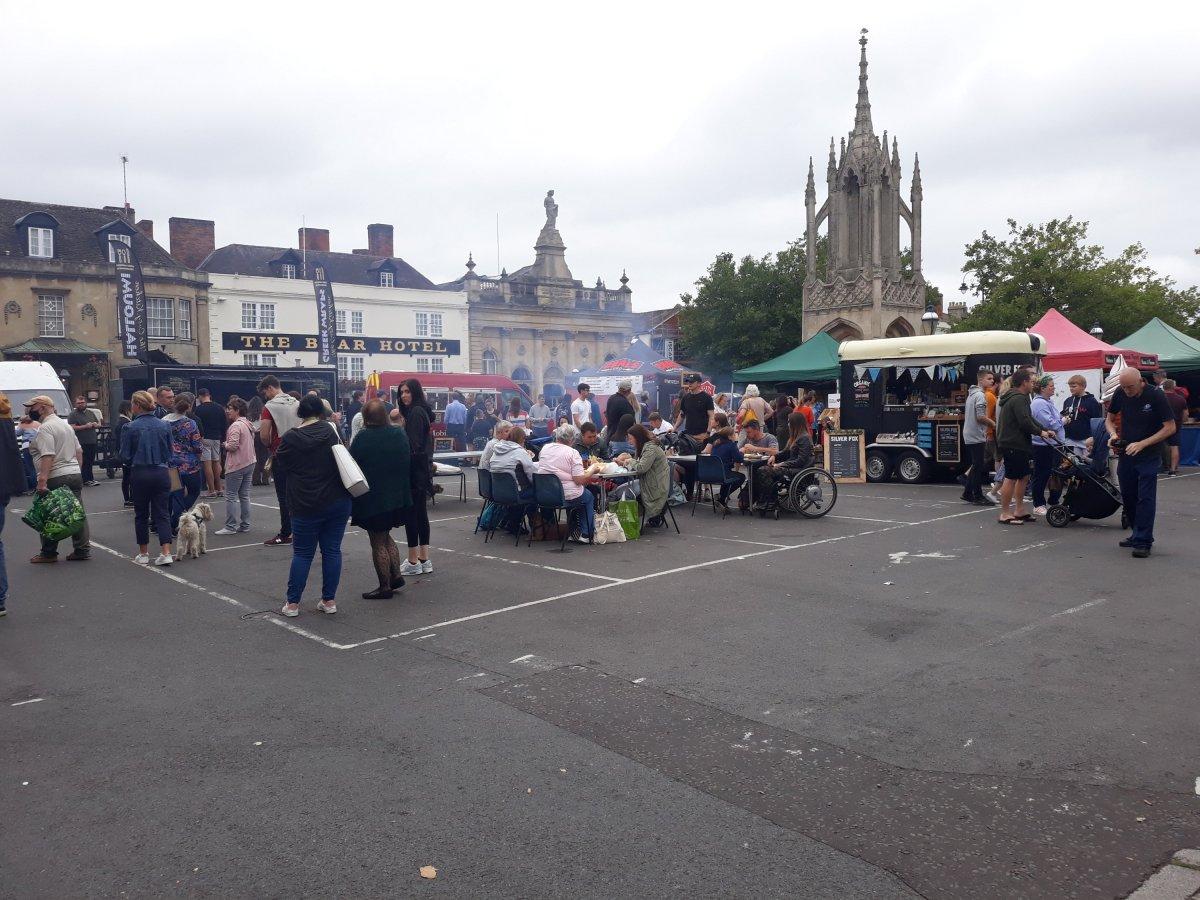 Fun & Food at Devizes Food & Drink Festival'sMarket