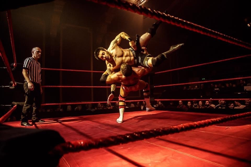 CSF Professional Wrestling celebrate 23 years of live events as the CornExchange
